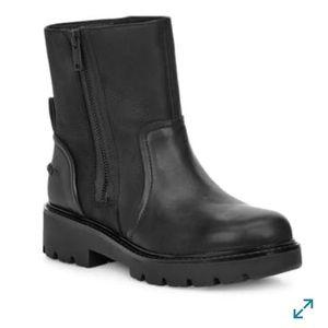 UGG WOMENS POLK BLACK BOOTS #8.5
